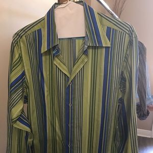 Robert Graham Long Sleeve Shirt..size XL